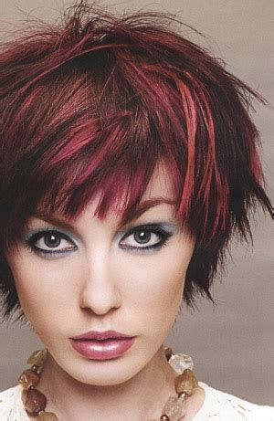brunette red hairstyles brunette hairstyles with red highlights