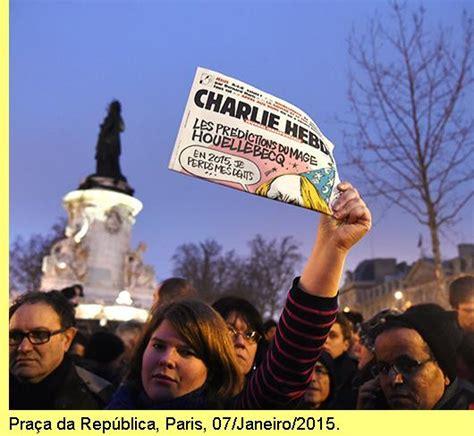 Atentado em Paris contra o Charlie Hebdo: o horror Atentado Em Paris