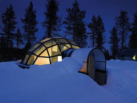 igloo to watch northern lights glass igloo gives fantastic view of northern lights enpundit