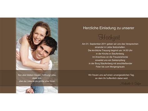 Einladungstext Hochzeit by Hochzeitskarte Hochzeitseinladung Einladung Hochzeit