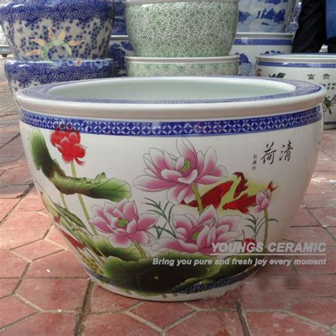 Ceramic Planter Pots For Sale by Sale Large Chinease Famille Ceramic Plant Pots For
