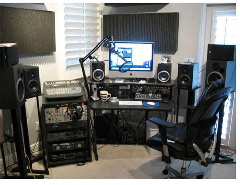 Dj Producer Desk Home Studio Ideas Home Studio Dawg Blog