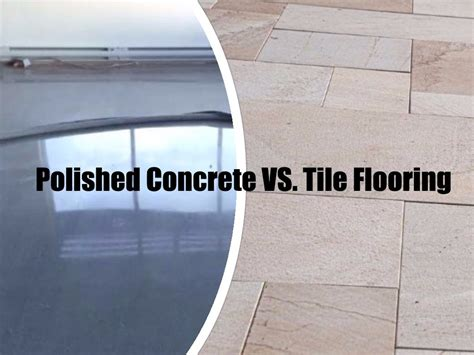 Ottawa Flooring Companies polished concrete vs tiles what you need to the floor company