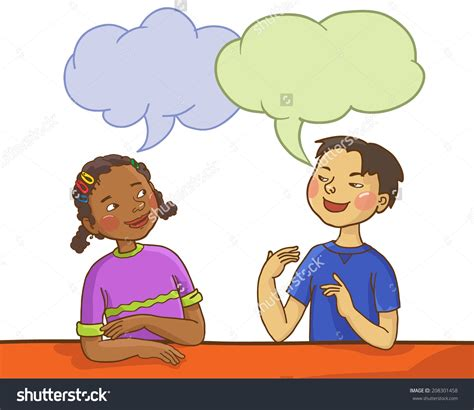 children clipart child clipart talking together pencil and in color child