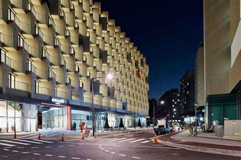 architects design modern architecture design elements staggered form hotel