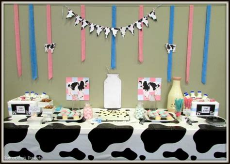 Cow Themed Baby Shower by Cow Themed Baby Shower Ideas My Practical Baby Shower Guide