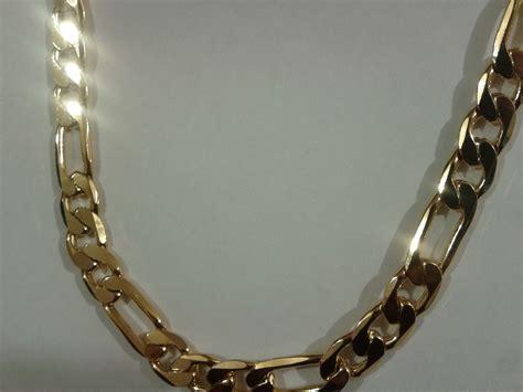 cadenas de oro gratis cadena cartier oro laminado 18k 60x1cm excelente calidad