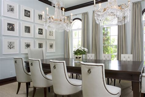 how to decorate dining room fabulous formal dining room with white tufted upholstered
