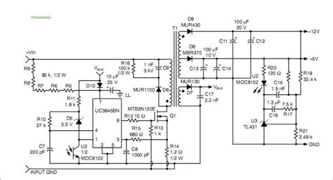 switching power supply schematic diagram power supply repair