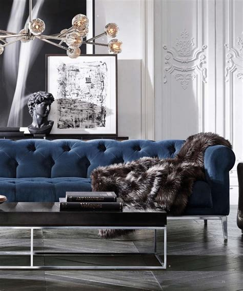 blue couch decor back to classic how to get a perfect interior design in blue