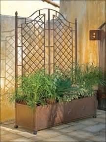 Metal Garden Screen Trellis Garden Trellis With Planter Garden Trellis With Planter