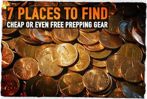 7 Places To Buy by 7 Places To Find Cheap Or Even Free Prepping Gear