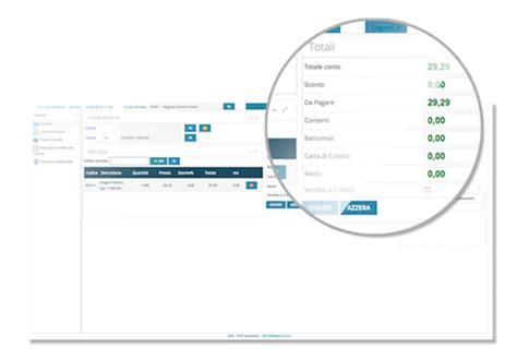 software vendita al banco sisi software gestionale professionale software