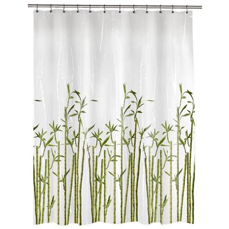 bamboo curtains walmart photoreal bamboo peva shower curtain walmart ca