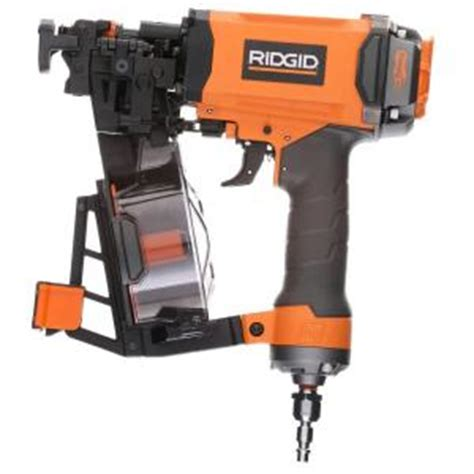 ridgid 1 3 4 in 15 roofing coil nailer r175rne