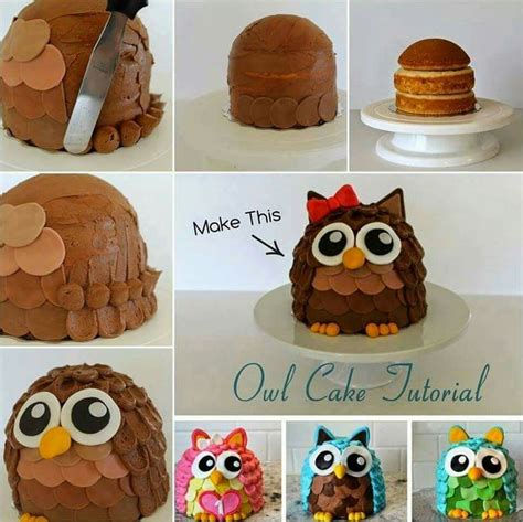 eulen kuchen eulen kuchen lecker cake cake tutorial