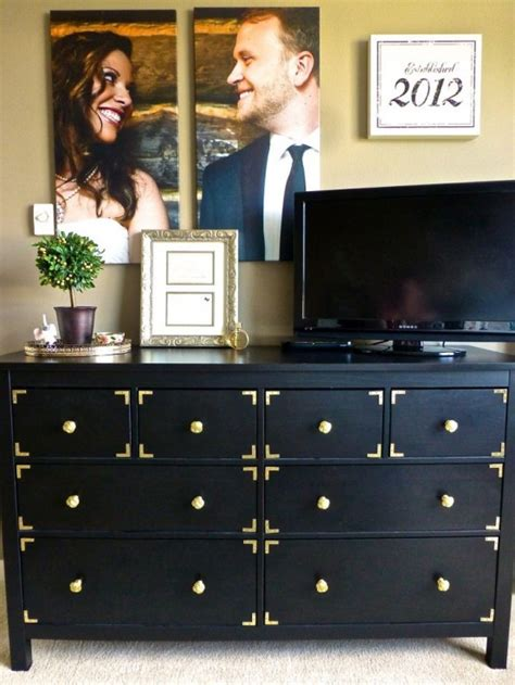 ikea hemnes dresser decor  hack ideas digsdigs