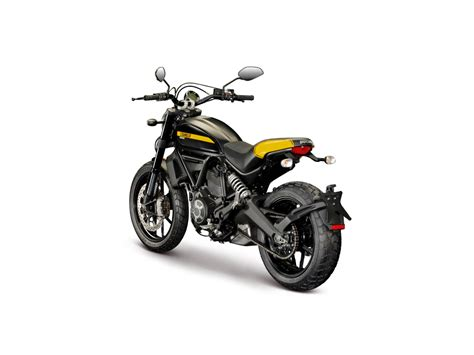 Motorrad Classic Nr 1 2 2015 by Ducati Scrambler Full Throttle Abs 2015 In Schwarz Gold