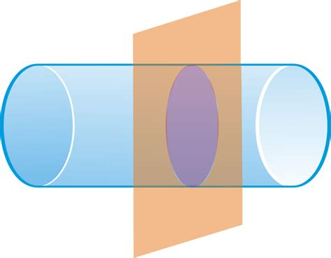 cross section of shapes cross sections and nets read geometry ck 12 foundation