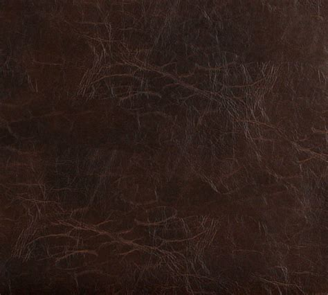 brown distressed leather hide look soft vinyl