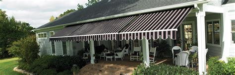 sunbrella retractable awning window blinds shades shutters draperies awnings