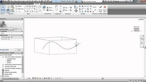 tutorial de revit 2015 en español como hacer cubiertas curvas en revit tutorial revit