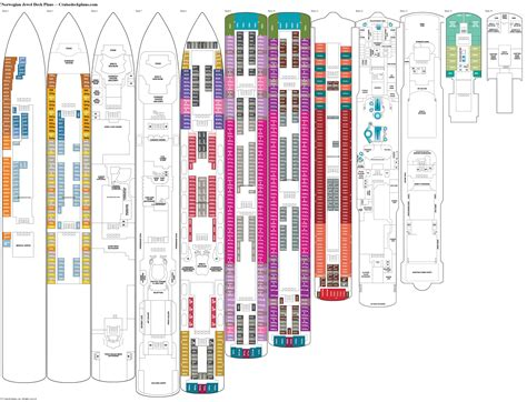 norwegian jewel floor plan norwegian jewel deck 5 deck plan tour