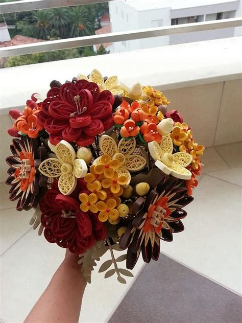 Quilling Wedding Bouquet by 1384 Best Images About Quilling Flowers On