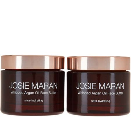 Josie Maran Argan Duo josie maran argan butter duo page 1 qvc