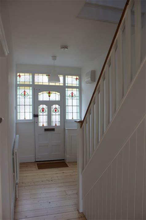 refurbishment of 1930s semi traditional entry south