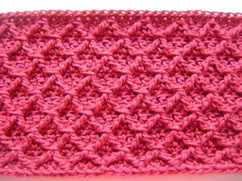 pattern of crochet free pattern diamond crochet cowl