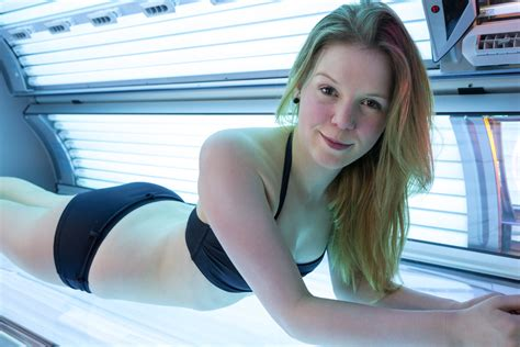 illegally young girls sunbed ban will make it illegal for under 18s to use sunbeds