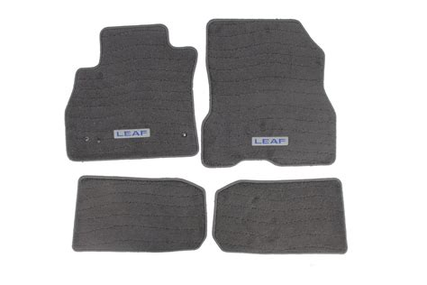 Nissan Leaf Floor Mats by Genuine Nissan Floor Mats 2011 2012 Leaf Nissan Race Shop