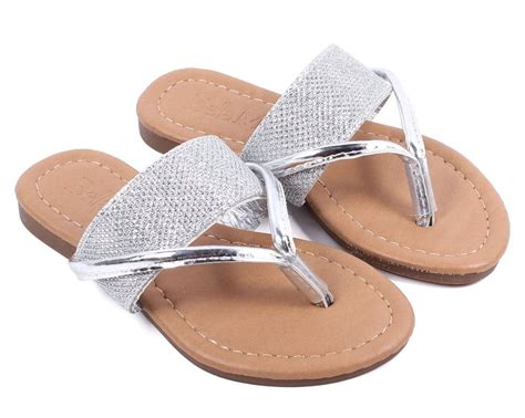 Wedges Heells Boots Flat Shoes 4 silver summer flip flops sandals flat youth casual shoes size 9 4 ebay