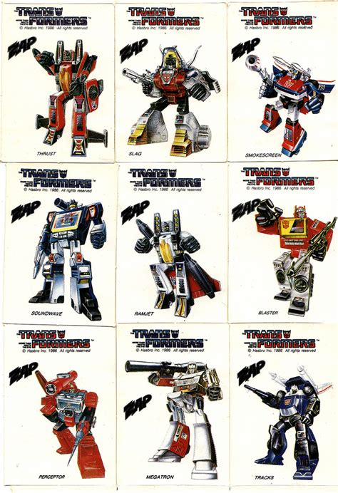 Sticker Transformer Autobot T001 1986 zap milk the transformers stickers set new zealand flickr