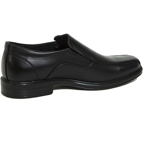 alpine swiss s dress shoes leather lined slip on