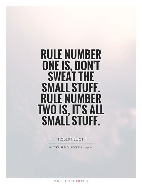 one rule robert eliot quotes sayings 1 quotation