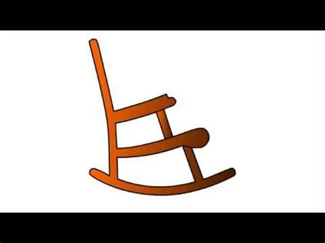 kids rocking chair drawing 539 how to draw rocking chair for kids step by step