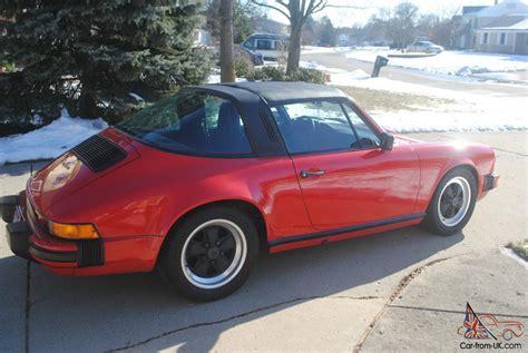 1986 porsche targa 1986 porsche 911 targa