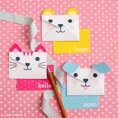 printable animal envelopes free woodland animal stick puppets lia griffith