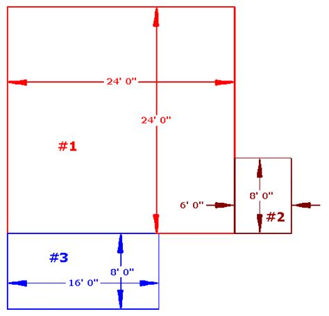 How To Find Square Footage Of Room by Calculating Square Footage The Flooring Mill