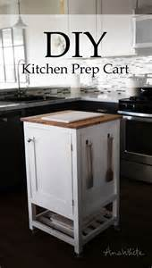 diy kitchen island prep cart project tutorial build your own how