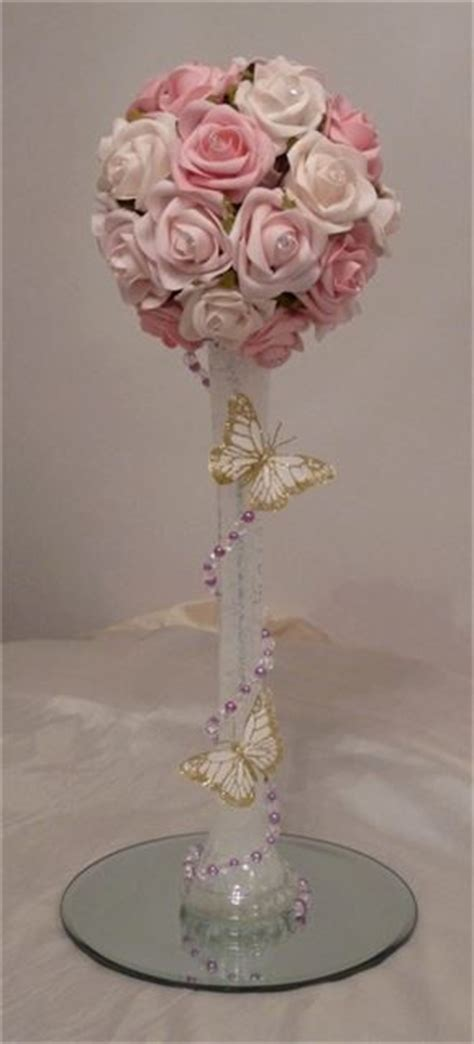 1000 images about bautizo on butterfly centerpieces flower balloons and fiestas 1784 best images about centerpieces on centerpieces bat mitzvah and water pearls