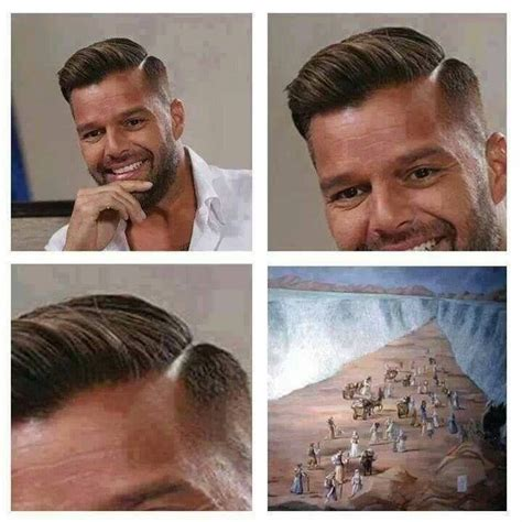 hair parting comes forward mens haircut ricky martin mens hairstyle ideas
