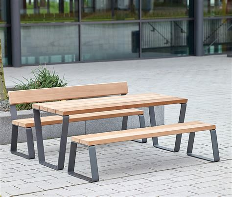 bench deutschland campus levis table benches with tables from westeifel