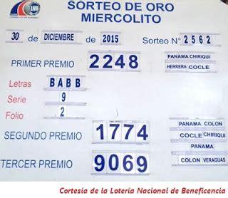 resultados loteria de panama miercoles 31 de diciembre caroldoey loteria nacional de panama resultados sorteo miercoles 30