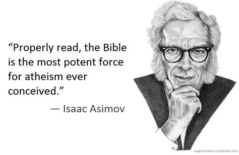 Quote Series Isaac Asimov isaac asimov on the bible the cosmic teapot