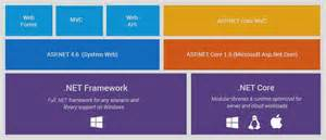 project layout in asp net core 1 0