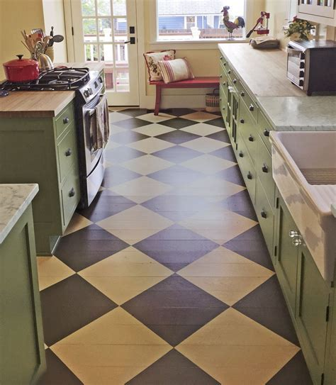 This Old House ? TLC for Painted Wood Floors Consider