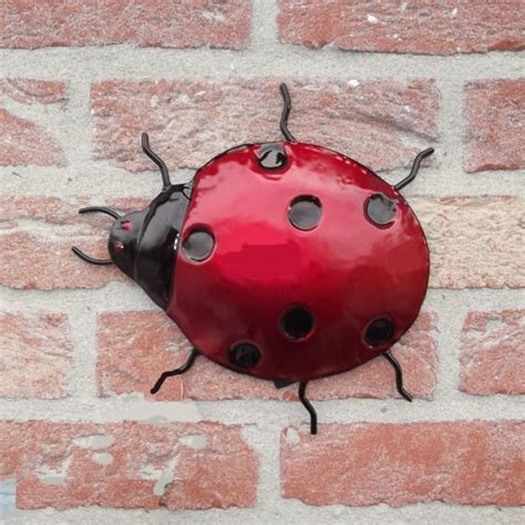 wanddecoratie dieren wanddecoratie lieveheersbeestje kopen metalen